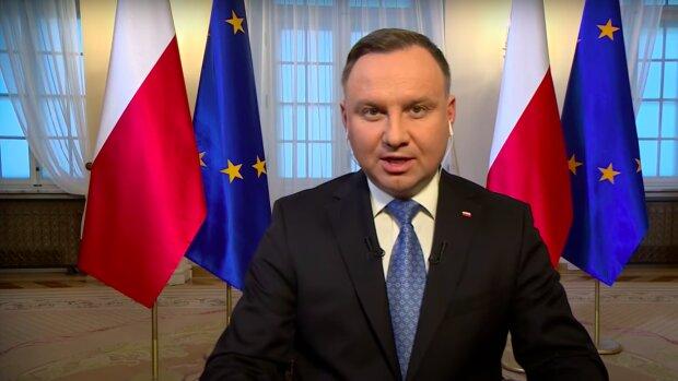 Andrzej Duda / YouTube:  polsatnews.pl