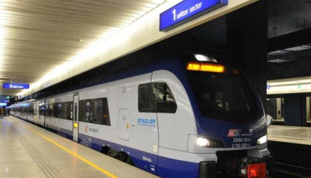 Warszawa, pociąg