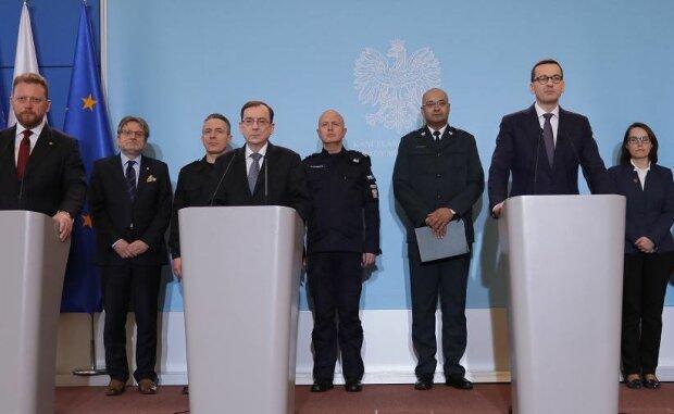 Konferencja. Źródło: wyborcza.pl