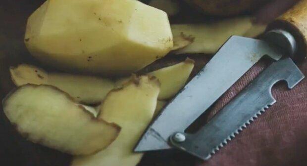 Obierki po ziemniakach / YouTube:  Aktualności 360