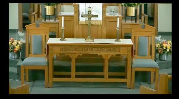 Skandaliczne zachowanie w kościele / YouTube:  Hebron Zion Presbyterian Church, USA