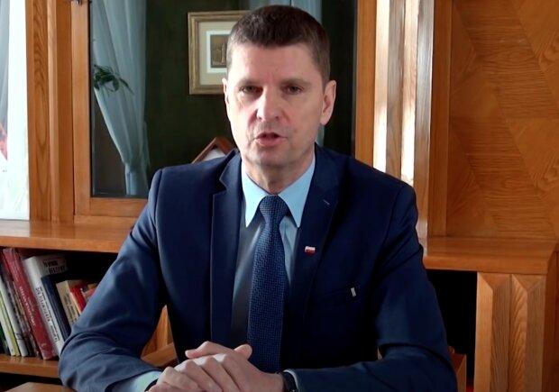 Minister Edukacji Dariusz Piontkowski. Screen: YouTube