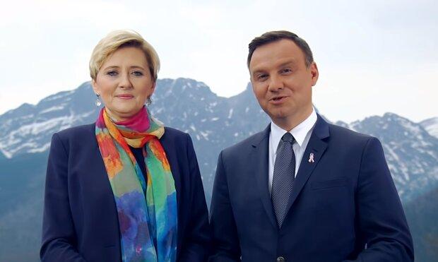 Andrzej i Agata Dudowie/YouTube @Andrzej Duda