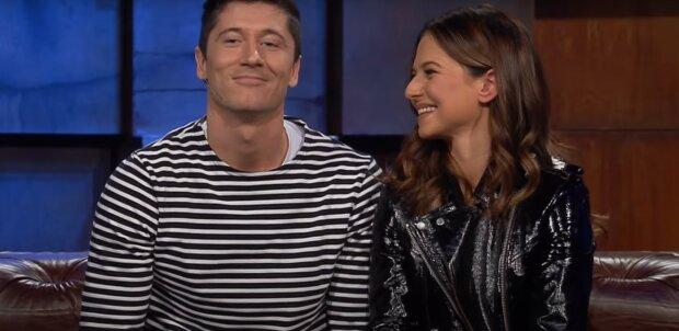 Robert i Ania Lewandowscy / Youtube TVN