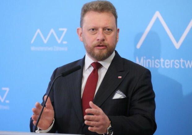 Łuaksz Szumowski/screen Twitter