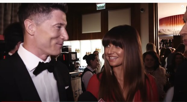 Anna i Robert Lewandowscy. YouTube Jastrzab Post