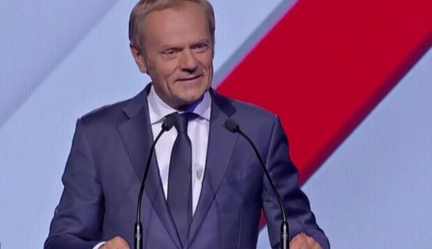 Donald Tusk/ screen yt