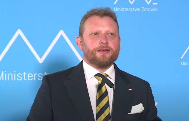 Łukasz Szumowski / YouTube:  Onet News