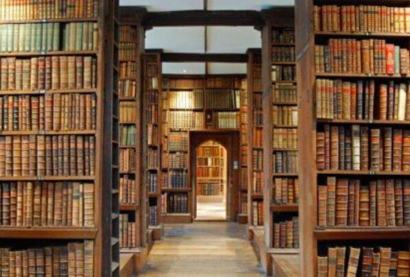 Niesamowity skarb ukryty w bibliotece! / trinity.ox.ac.uk