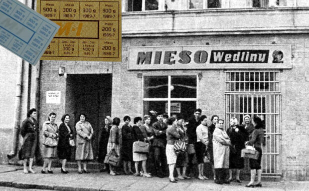 Kartki żywnościowe z PRL. Historia reglamentacji towarów