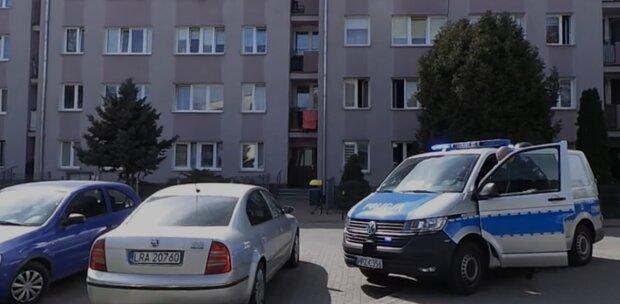 Wypadek, Warszawa/ screen z video tvn24.pl