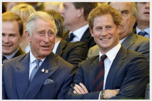 Książę Harry i książę Karol. Źródło: youtube.com
