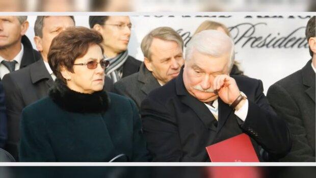 Lech Wałęsa, Danuta Wałęsa. Źródło: Youtube Plotki Rozrywka