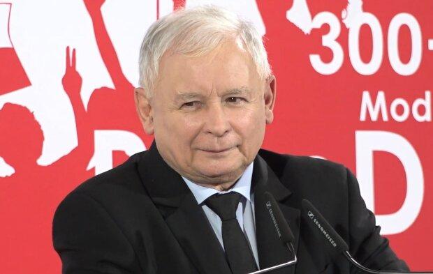 Jarosław Kaczyński. Źródło: Youtube OKO.press