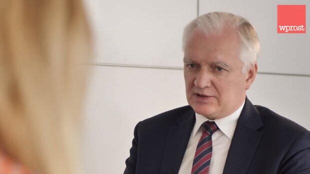 Jarosław Gowin. Źródło: Youtube Wprost