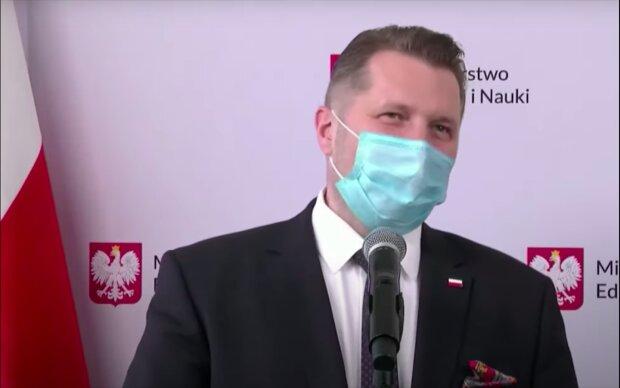 Przemysław Czarnek / YouTube:  Onet News