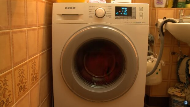 Pralka. Źródło: Youtube washing machine