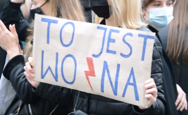 Gdańsk: minął miesiąc protestów w ramach Strajku Kobiet. Kilkaset osób przeszło ulicami miasta i protestowało pod siedzibą PiS