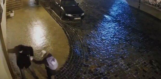Lód na chodnikach na Ukrainie YouTube
