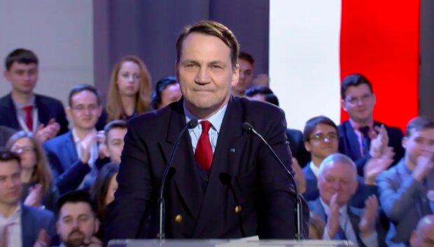Radosław Sikorski / YouTube:  Platforma Obywatelska