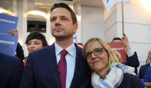 Rafał Trzaskowski i Małgorzata Trzaskowska. Źródło: pomponik.pl