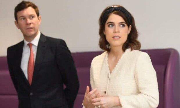 Księżniczka Eugenia i Jack Brooksbank/YouTube @Express News