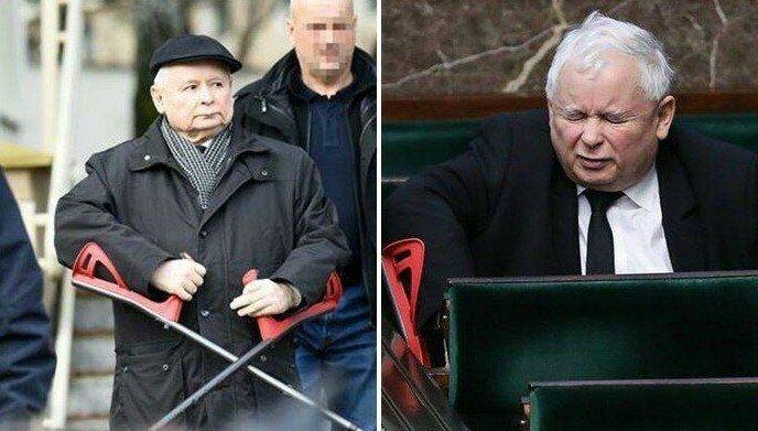 Kolano Jarosława Kaczyńskiego w centrum zainteresowania. Są nowe informacje w sprawie jego tajemniczej operacji