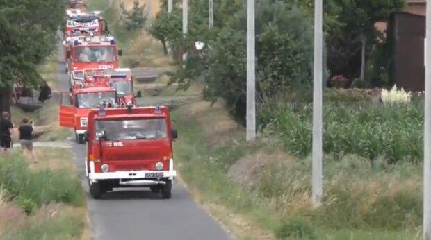 Straż pożarna. Źródło: Youtube