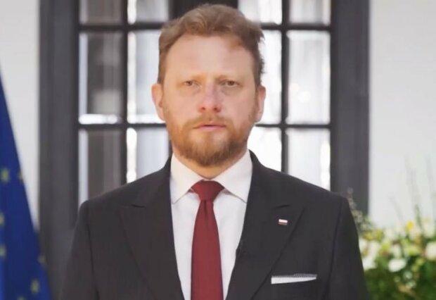 Łukasz Szumowski/screen Twitter @MZ GOV PL