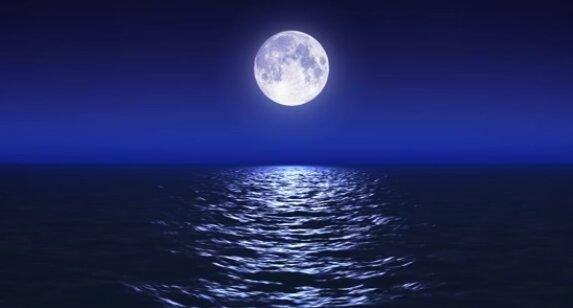 Niebieski Księżyc. Źródło: Youtube