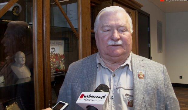 Lech Wałęsa/ YouTube @Gazeta Wyborcza