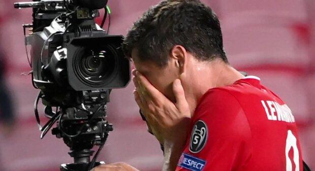 Robert Lewandowski nie był w stanie powstrzymać łez. Co się stało