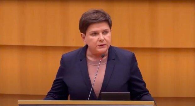 Beata Szydło / YouTube: Janusz Jaskółka
