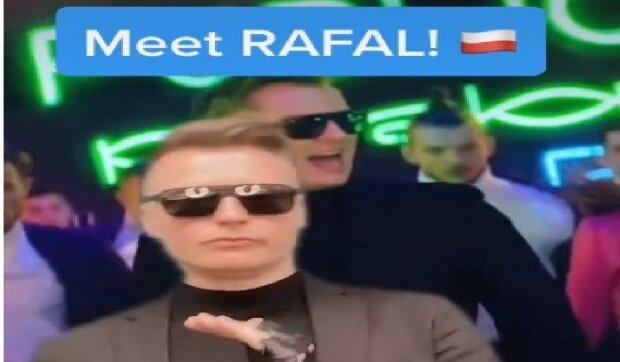 Rafał Brzozowski na TIK TOKU