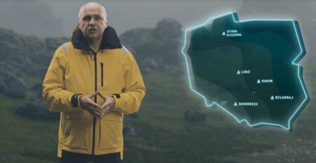 """Niepokojąca prognoza pogody Tomasza Zubilewicza. """"Ubierzcie się państwo szczelnie, najlepiej w kombinezony z kapturem"""" [WIDEO]"""