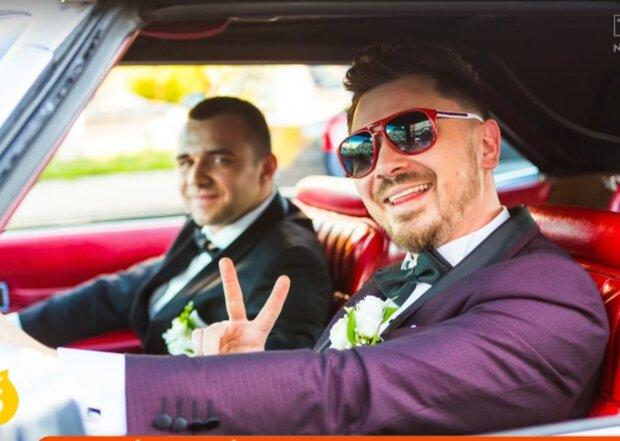 Daniel Martyniuk na swoim ślubie