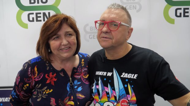 Jurek Owsiak z żoną. Źródło: Youtube Kocham Łódź