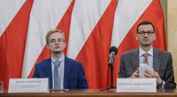 Piotr Patkowski, Mateusz Morawiecki