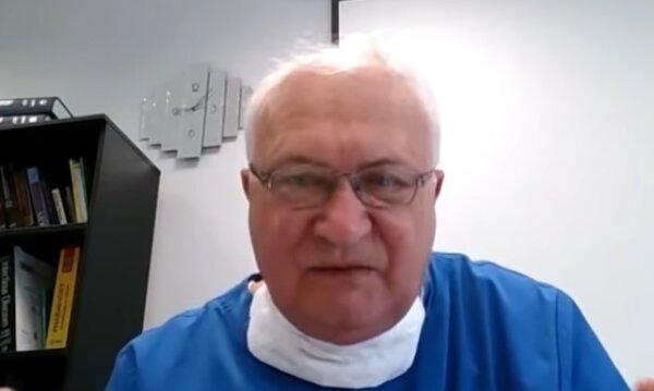 Prof. Krzysztof Simon. Źródło: Youtube