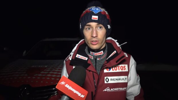 Kamil Stoch. Źródło: Youtube Skijumping