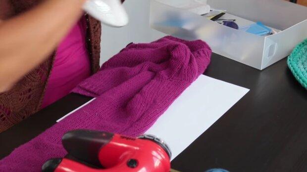 Sweter. Źródło: Youtube Sklep E-DZIEWIARKA
