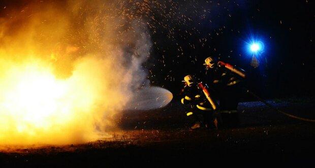Kraków: w środku nocy pomiędzy blokami pojawił się ogień. Co się stało
