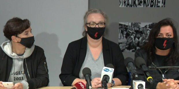 Ogólnopolski Strajk Kobiet/ https://tvn24.pl/