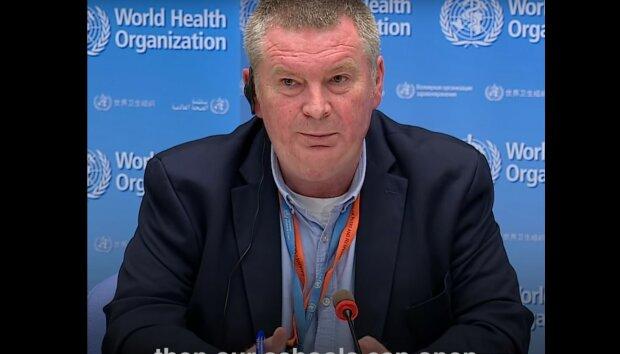 Dyrektor WHO ds. kryzysowych dr Mike Ryan / Youtube