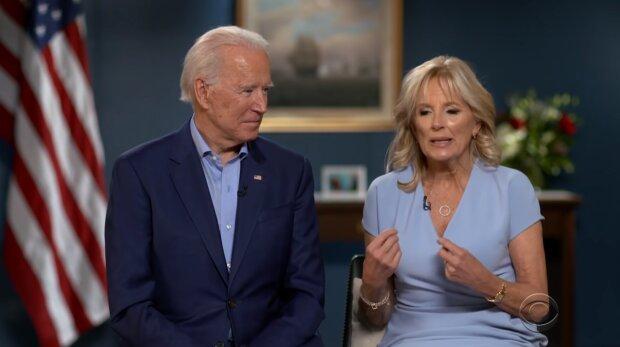 Joe Biden i Jill Biden. Źródło: Youtube The Late Show with Stephen Colbert