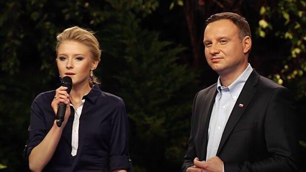 Kinga Duda współpracuje z Andrzejem Dudą /  YouTube: Andrzej Duda