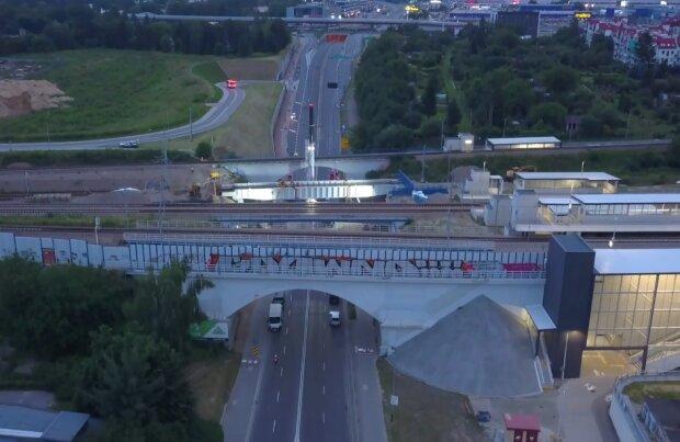 Kraków: spektakularny etap prac zakończony podczas budowy wiaduktu. Co dokładnie zrobiono w ubiegły weekend