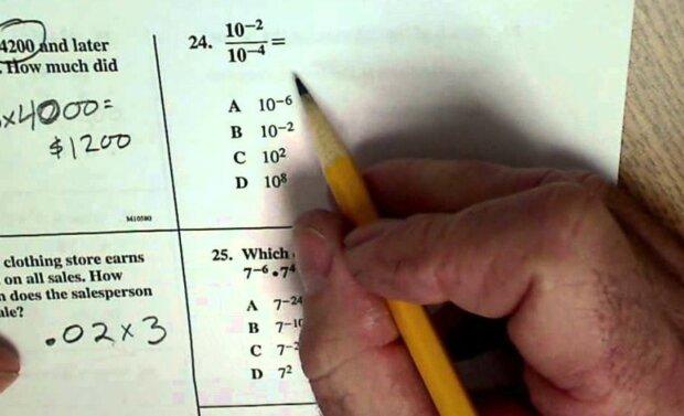 Test z matematyki/Youtube @ColfaxMath