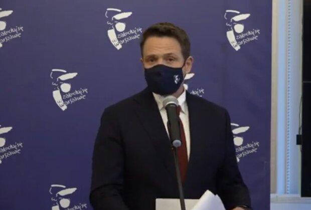 Rafał Trzaskowski/ YouTube: PRESS.WARSZAWA