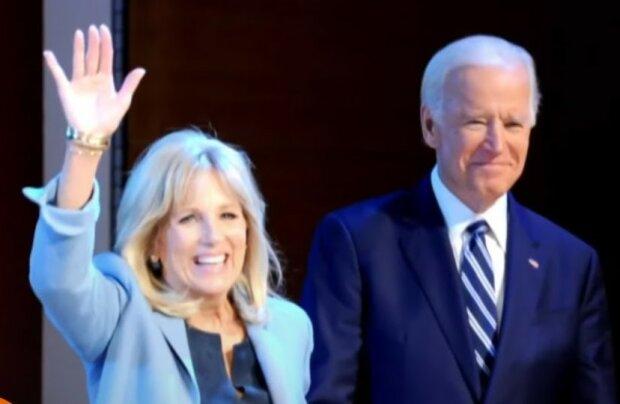 Joe Biden, Jill Biden/screen Yotube @TODAY